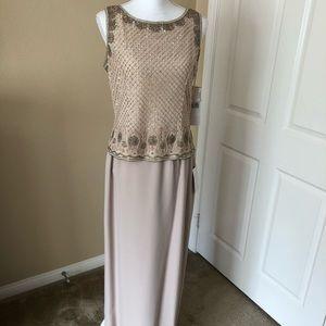 A 2 pc evening dress